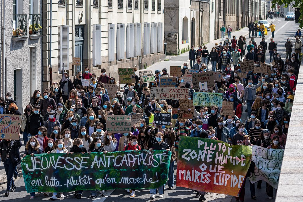 Youth For Climate, Nantes, 16 avril 2021